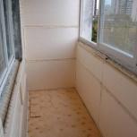 Отделка балкона и утепление, обшивка лоджий, Новосибирск