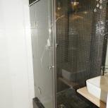 Душевые стеклянные перегородки. Стеклянные двери ( Душевая кабина ), Новосибирск