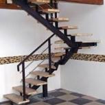Металлический каркас лестницы, Новосибирск