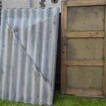 Отдам двери нестандартного размера 1830х930 из дерева и ДСП., Новосибирск
