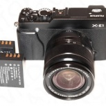 объектив Fujifilm X-E1 XF 18-55/2.8-4 OIS, Новосибирск
