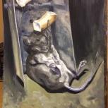 Продам картину. Мышь, Новосибирск
