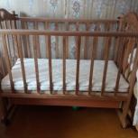 Продам кроватку - люльку, Новосибирск
