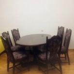 Комплект стол и 6 стульев (дуб) пр-во Италия, Новосибирск