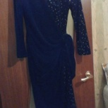 Платье новогоднее- бархат 44-48 разм, Новосибирск