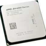 Продам процессор AMD A4-6300 Richland 3700MHz TDP-65W SocketFM2 tray, Новосибирск