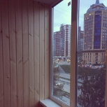 Остекление и утепление лоджий. Внутренняя отделка., Новосибирск
