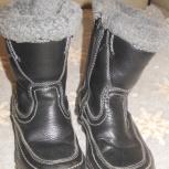 Продам зимние сапоги на мальчика, Новосибирск