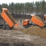 Песок отсыпной строительный с доставкой без выходных!, Новосибирск