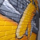 Роспись стен, аэрография, граффити, Новосибирск