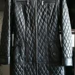 Продам женский кожаный плащ, Новосибирск