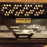 Баян аккордеон кнопочный Firotti 5-ти рядный, Новосибирск