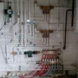 Монтаж систем отопления, водоснабжения, Новосибирск