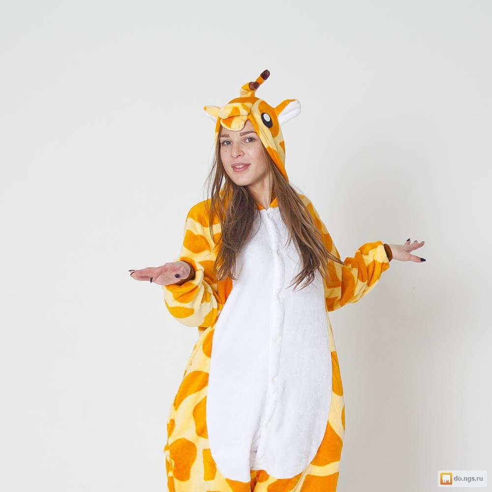 Пижама Кигуруми Жираф 6eb5f5ad5edb0