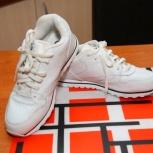 Продам кроссовки новые мужские белые, Новосибирск