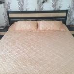 Кровать с матрасом и две тумбочки, Новосибирск