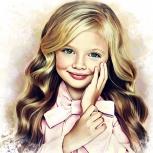 Детский портрет., Новосибирск