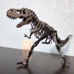 Статуэтка динозавра из метала, Новосибирск