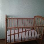 Кровать детская с матрасом, Новосибирск