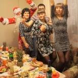 Поздравление Деда Мороза и Снегурочки, утренник, корпоратив, недорого, Новосибирск