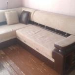 Продам угловой диван и кресло-кровать, Новосибирск
