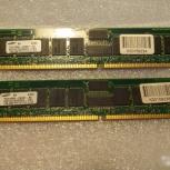 Память Samsung DDR PC2700 CL2.5 ECC (для сервера), Новосибирск
