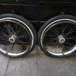Велосипедные колеса от каммы на осях., Новосибирск