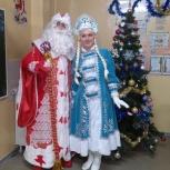 Самые роскошные и креативные дед мороз и снегурка, Новосибирск