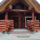 Внутренняя и наружняя отделка деревянных домов, Новосибирск