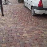 Кладка тротуарной плитки. (Брусчатки) Новосибирск. Скидки до 1 мая 15%, Новосибирск