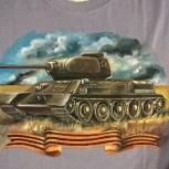 Продам футболки с рисунком собственного производства., Новосибирск