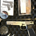 Пневматический пистолет walther cp88 competition cal.4,5 mm, Новосибирск