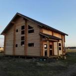 Дом 10х12м из сухого профилированного бруса (кедр) 200х200мм., Новосибирск