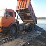 Доставка-щебень,песок,вывоз мусора и др, Новосибирск