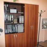 """Продам два  офисных шкафа из серии мебели """"русский кабинет"""", Новосибирск"""