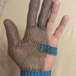 Перчатка обвальщика трёхпалая кольчужная, Новосибирск