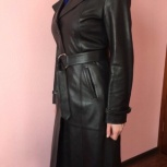 Пальто кожаное женское, Новосибирск