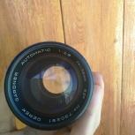 Продам объектив Derek Gardner 135mm f/2.8, M42, Новосибирск