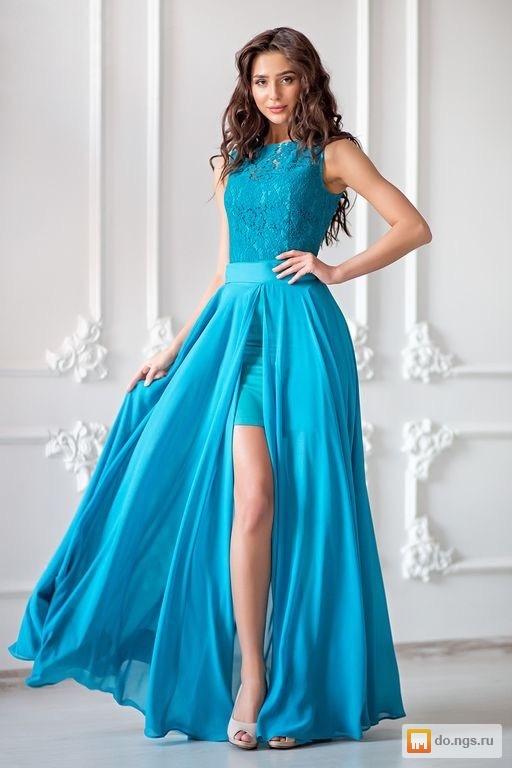 25d44243189 Платье-трансформер на выпускной б у фото
