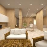 Дизайн-проекты, визуализация квартир, коттеджей, Новосибирск