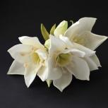 Авторские броши цветы из ткани и фоамирана, Новосибирск