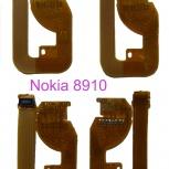 Продам новый шлейф с разъемом для Nokia 8910/8910i, Новосибирск