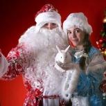 Дед Мороз и Снегурочка., Новосибирск