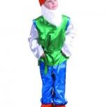 Продам новогодний костюм Гном (отличное состояние), Новосибирск