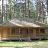 Продам два дома из профилированного бруса на разбор., Новосибирск