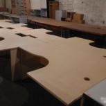 Бело-бежевые столы, Новосибирск