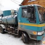 Откачка ям, туалетов, жироуловителей, септиков, устранение засора, Новосибирск