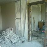 Выдолблю дверной проём демонтаж стен монтаж перегородок, Новосибирск