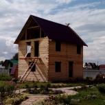 Строительство бань, домов, гаражей, Новосибирск