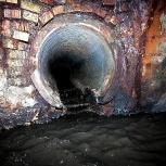 замена канализации путём разрушения, Новосибирск